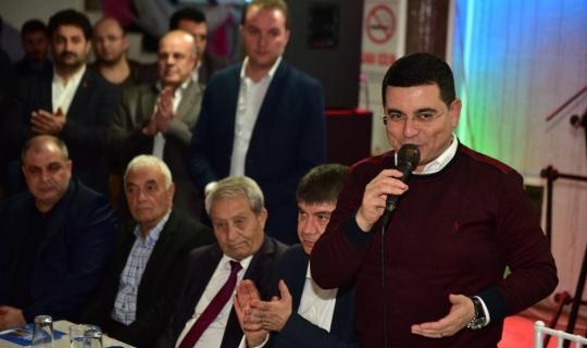 """Başkan Tütüncü: """"Kepez küçük bir Türkiye"""""""