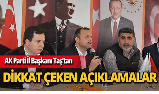 """Ak Parti Antalya İl Başkanı Taş: """"Terörün dinle alakası yok"""""""