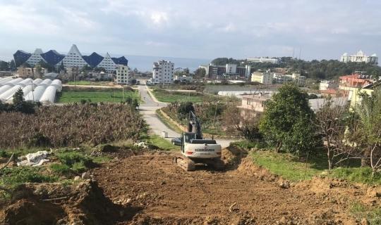 Alanya'nın mahallelerinde çalışmalar devam ediyor