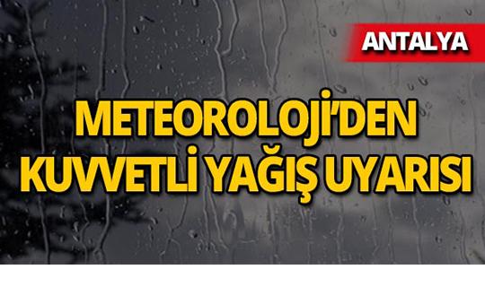 Aman dikkat! Meteoroloji'den kritik uyarı