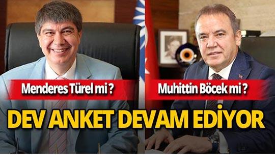 Antalya Büyükşehir Belediye Başkanı'nı seçiyor!