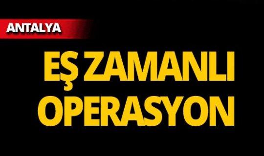 Antalya'da aranan 21 kişi yakalandı!