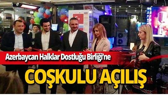 Antalya'da Azerbaycan Halklar Dostluğu Birliği kuruluyor.