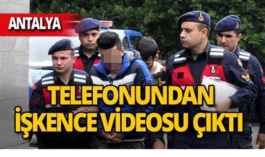 Antalya'da işkence edip videoya çektiler!