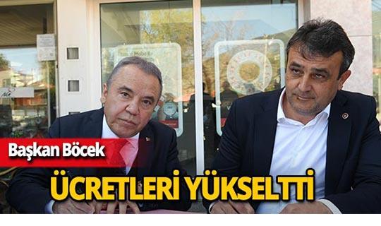 Antalya'da kadrolu işçilerin günlük taban ücretleri yükseldi