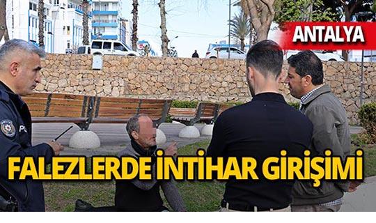 Antalya'da kolonya içti, intihar etmek istedi!