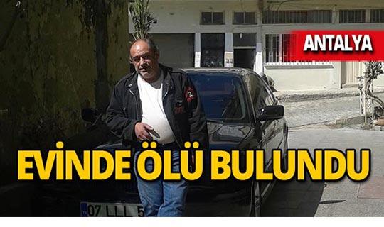 Antalya'da otel çalışanının acı ölümü!