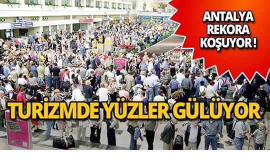 Antalya resmen rekora koşuyor!