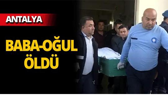 Antalya'da arazi anlaşmazlığı kanlı bitti!