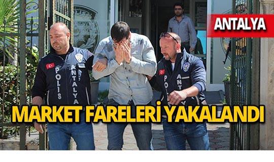 Antalya'da tırnakçılara suçüstü!