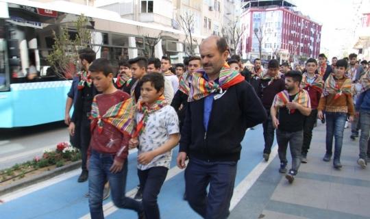 Antalya'da Yörük Gençliği Platformu üyelerinden CHP listesine protesto