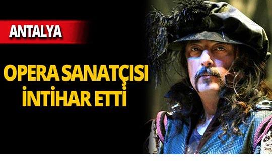 Antalyalı sanatçı intihar etti!
