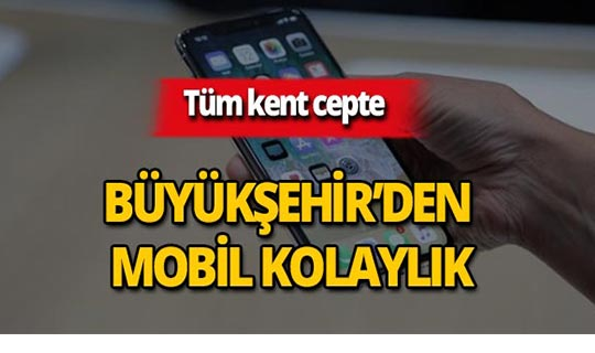 Antalyalılara mobil kolaylık!
