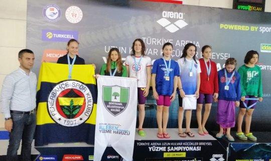 Antalyaspor 4 madalya ile döndü
