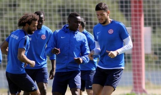 Antalyaspor, Galatasaray maçı hazırlıklarını sürdürdü
