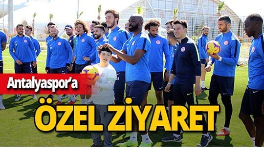Antalyaspor'un özel misafirleri