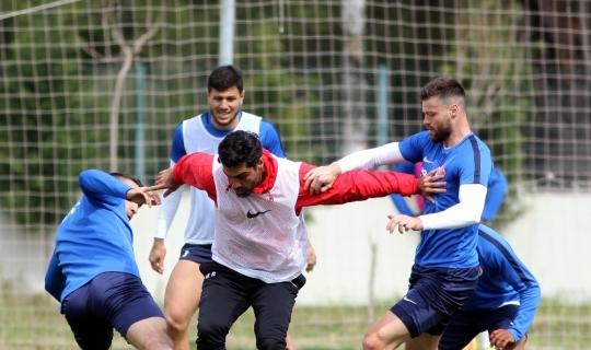 Antalyaspor'da derbi hazırlıkları sürüyor