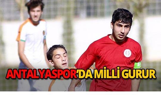 Antalyaspor'un milli gururu