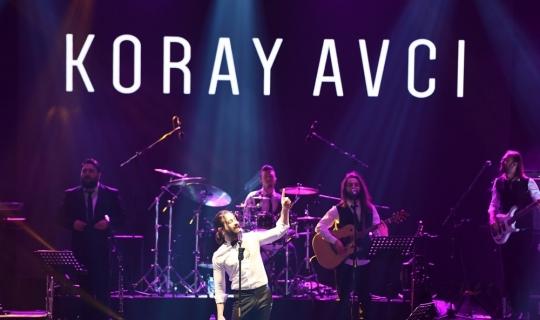 Atatürk'ün Antalya'ya gelişi Koray Avcı konseriyle kutlandı