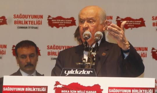 Bahçeli'den KIlıçdaroğlu'na sert eleştiri