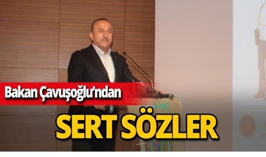 """Bakan Çavuşoğlu: """"Bizim belediye meclisi üyelerimizi PKK belirlemedi"""""""