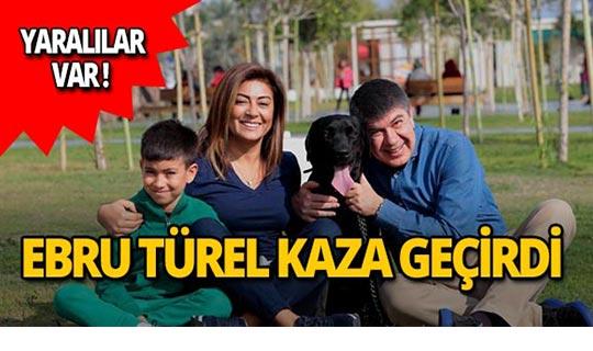 Başkan Menderes Türel'in eşi Ebru Türel kaza geçirdi