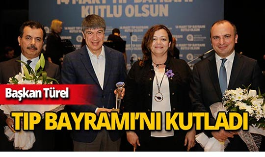 Başkan Türel sağlık çalışanlarıyla buluştu