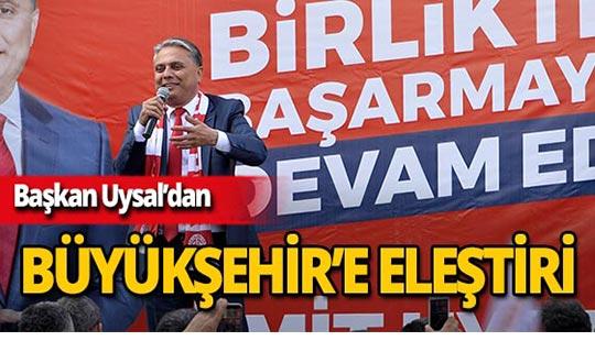 Başkan Uysal'dan Kırcami'de tapu dağıtılmasına tepki!