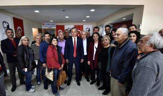 Başkan Uysal Yenikapılılarla buluştu