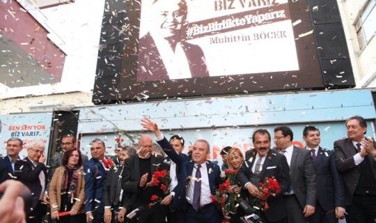 Böcek Kumluca'da SKM açılışına katıldı
