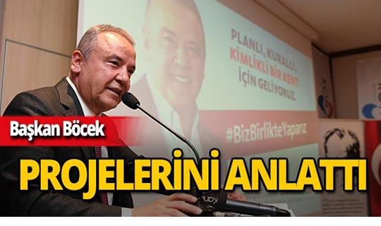 Böcek'ten Antalyaspor ve Alanyaspor'a yaz kampı tesisi sözü!
