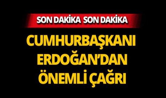 """Cumhurbaşkanı Erdoğan çağrı yaptı: """"Yeter ki bu evler boşalsın"""""""