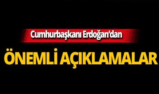 Cumhurbaşkanı Erdoğan'dan 3600 ek gösterge açıklaması!