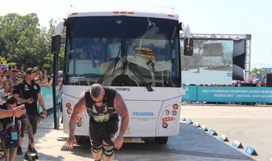 Dünyanın en güçlü sporcuları Alanya'ya geliyor