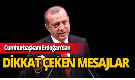 """Erdoğan: """"Türk Milleti ile sorunu olan herkes 31 Mart'ı bekliyor"""""""