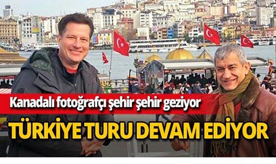Kanadalı fotoğrafçı Türkiye'yi tanıtacak!