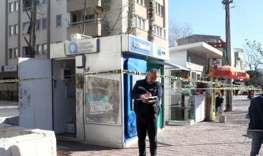 Antalya'da ATM'yi soydular!
