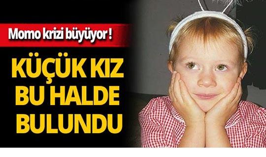 Momo, 7 yaşındaki kızın beynini yıkadı!
