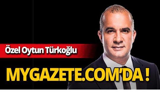 Özel Oytun Türkoğlu yarından itibaren mygazete.com'da!