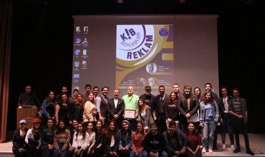 Reklamın ustaları Akdeniz Üniversitesi öğrencileriyle buluştu