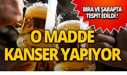 Uzmanlar uyardı: Bira ve şarapta gizli zehir var!