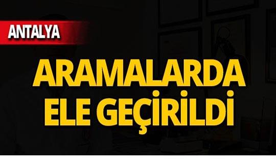 Antalya'da 8 tutuklama!