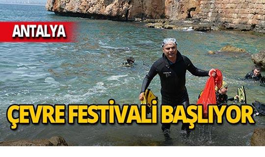 Antalya'da Çevre Festivali başlıyor!
