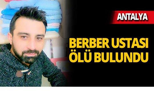 Antalya'da kahreden ölüm!