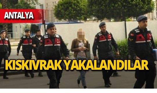 Antalya'da polis şüphelileri böyle yakaladı!