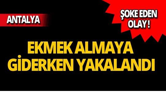 Antalya'da şoke eden olay!
