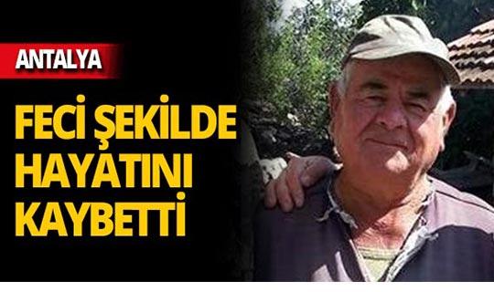 Antalya'da yaşlı adamın üzerine yıldırım düştü!