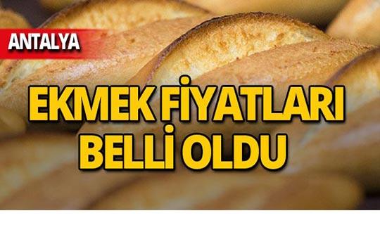 Antalya'da ekmek ve pideye zam!