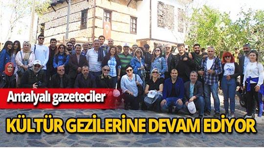 Antalyalı gazetecilerden Manavgat ve Alanya ziyareti