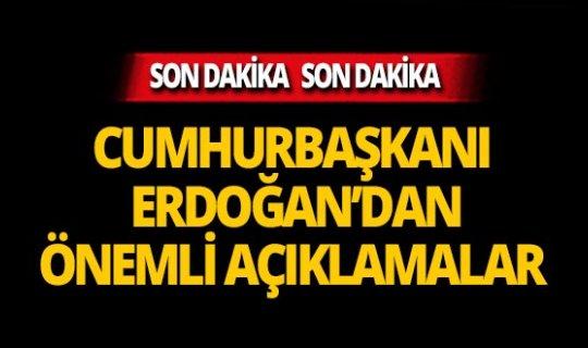 """Cumhurbaşkanı Erdoğan: """"Kaybetmedik, tam tersine kazandık"""""""
